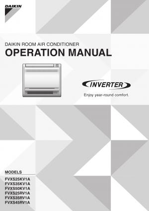 daikin air conditioner remote manual
